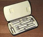 Tuning Fork Clinical Grade Set 128-4096 Cps 6 pc+Case