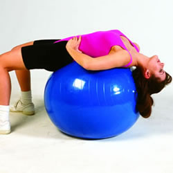"Inflatable Physical Therapy Balls (12""-48"")"