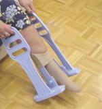 Compression Stocking Aid w Heel Guide
