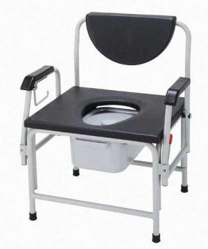 Bariatric Drop-Arm Commode Heavy Duty  Extra-Large