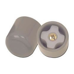 Glide Cap  pair  Gray