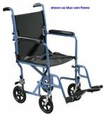 Wheelchair Transporter 19  Silver Vein Finish