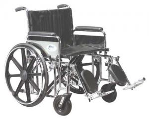 Wheelchair Std - Footrest Only Sdf  pair