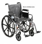 Wheelchair Std. 16  Fixed Arms