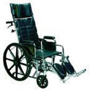 Wheelchair Full Reclining 18  w Rem Full Arms