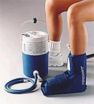 Aircast Cryo Cuff System-Ankle & Cooler