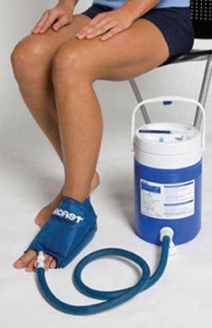 Aircast Cryo  Cuff System- Large Foot & Cooler