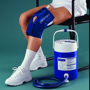 Aircast Cryo  Cuff System- Pediatric Knee & Cooler