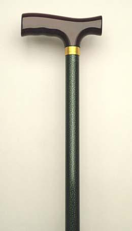 Aluminum Green Adjustable Cane