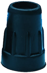 Quad Cane Tip - Small Base Black Pk 4 #16