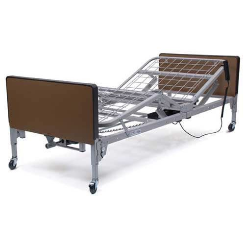 Patriot Full Electric Bed Bed w  Mattress & Half Rails