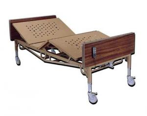 Bariatric Bed 48  w Mattress  &  T  Rails