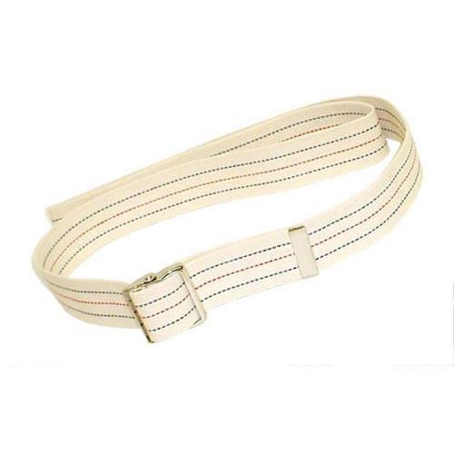 Gait Belt w Metal Buckle 2x72  Striped