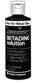 Betadine Solution- Gallon  Each
