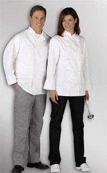 Knot Button Chef Coat