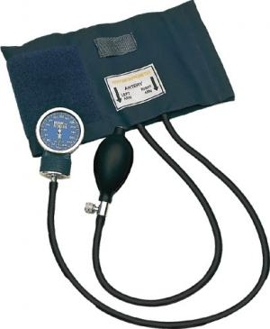 Aneroid Blood Pressure With Large Adult Cuff