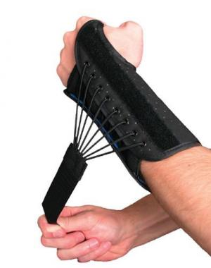Wrist Splint w Bungee Closure Left  Large