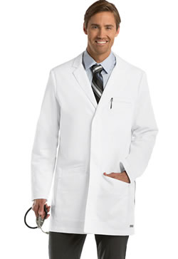 "Grey's Anatomy Men's 35"" 6 Pocket Lab Coat #0917"