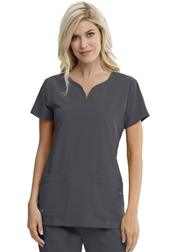 Grey's Anatomy Signature Series Notch Neck Top