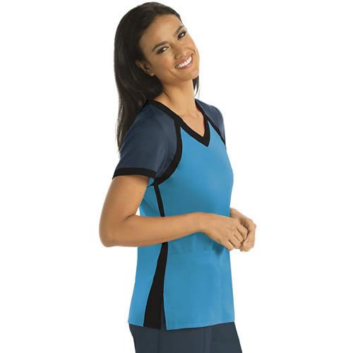 Grey s Anatomy Women s Active V-Neck Scrub Top  41435 86b9b922e6fb