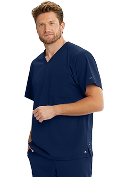 Barco One Men's 4 Pocket Vortex Scrub Tops #BOT040