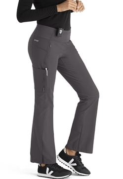 "Grey's Anatomy EDGE Women's ""Nova"" Yoga Style Scrub Pants #GEP007"