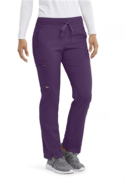 Grey's Anatomy Spandex Stretch Logo Waist Cargo Pants #GRSP500