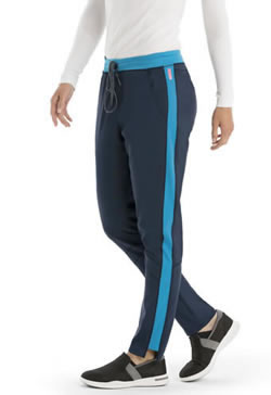 Grey's Anatomy Active Spandex Stretch Women's Mid-Rise Pant #GVSP501