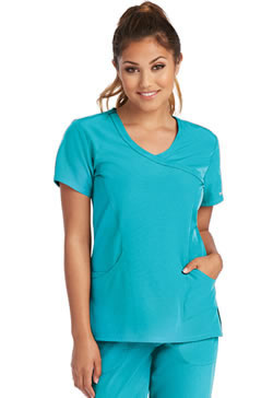 Sketchers Women's 3 Pocket Mock Wrap Tops #SK102