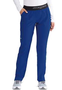 Sketchers Women's Mid-Rise Straight Leg Cargo Vitality Pants #SK202