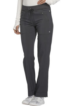 Infinity by Cherokee Antimicrobial Protection Mid Rise Tapered Leg Drawstring Pants #CK100A