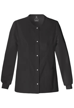 Cherokee Luxe Women's Snap Front Warm-Up Jacket