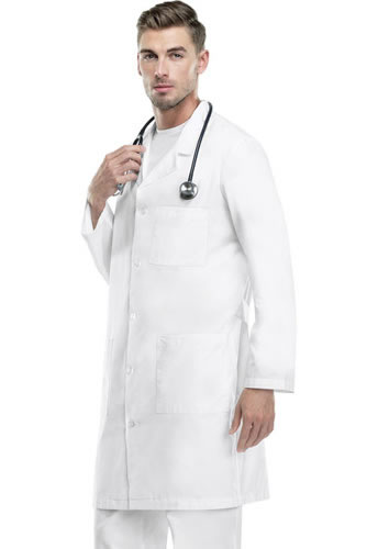 Cherokee Med Man 40  Back Belt Lab Coat