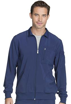 Cherokee Infinity Antimicrobial Men's Zip Front Scrub Jacket #CK305A