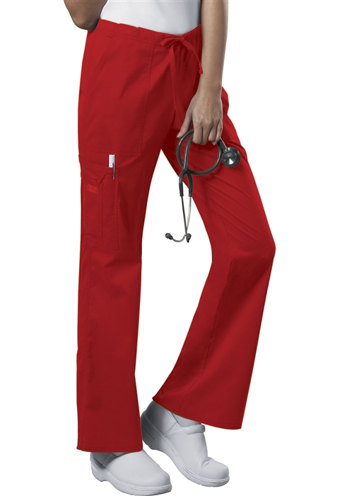 a55ec137e595 Cherokee Workwear Core Stretch Women's Drawstring Cargo Scrub Pants