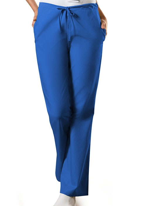 fda3e655463 Cherokee Workwear Modern Flare Leg Drawstring Scrub Pant #4101