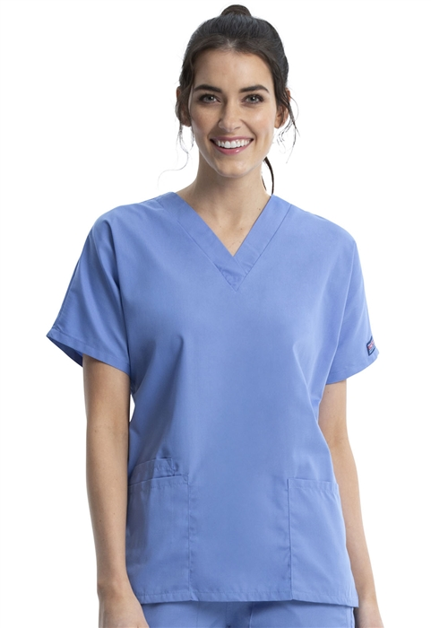 c8c65808f91 Cherokee Workwear | Scrubs & Uniforms | Women's V-Neck Top #4700
