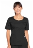 Cherokee Workwear Women's Novelty V-Neck Top