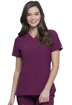 Infinity Antimicrobial Protection Flattering V-Neck Tops #CK865A