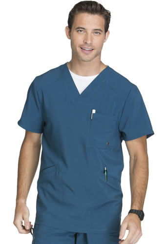 Cherokee Infinity Antimicrobial Men's V-Neck Top #CK900A