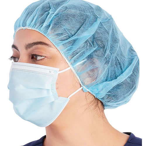 3 Ply Face Mask Disposable in Blue Qty. 100