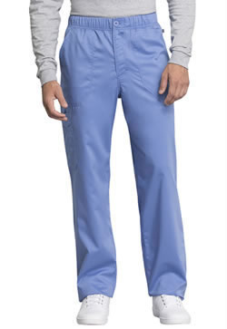 Revolution Workwear Men's Mid Rise Straight Leg Zip Fly Pants #WW250AB
