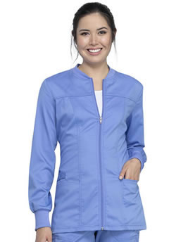 Workwear Revolution Zip Front Jacket-CERTAINTY PLUS® #WW305AB