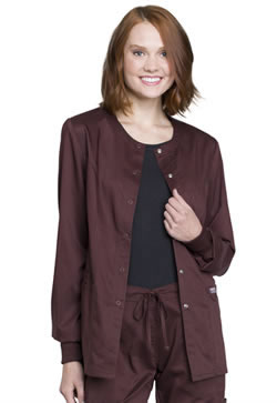 Revolution Workwear Snap Front Scrub Jacket #WW310