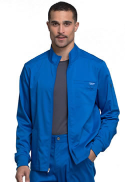 Revolution Workwear by Cherokee Men's Zip Front Warm-Up Jacket #WW320
