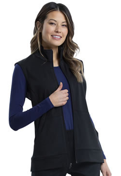 Revolution Workwear Women's Zip Front Knit Vests #WW521