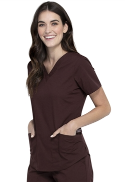 Professionals Workwear Women's V-Neck Top Cherokee