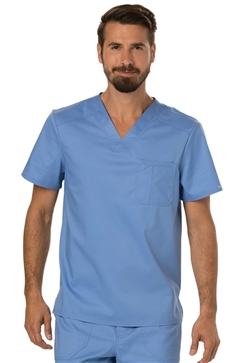 Revolution Workwear Men's Stretch V-Neck Top #WW690