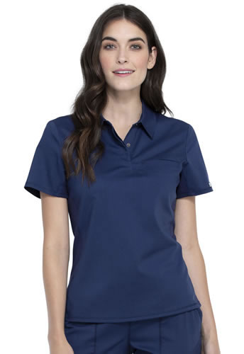 Revolution Workwear Snap Front Polo Scrub Shirts #WW698