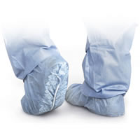 Polypropylene Shoe Covers Non-Skid  Regular   300